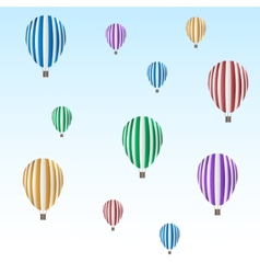 Balloon set vector