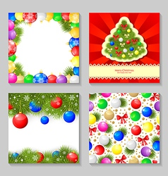 christmas set3 vector image