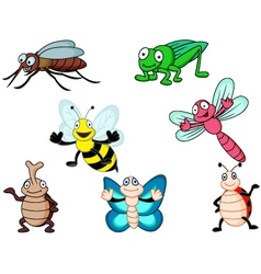 insect cartoon vector image