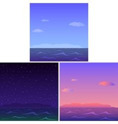 landscapes vector image