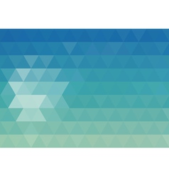 Mosaic geometry abstract background vector image