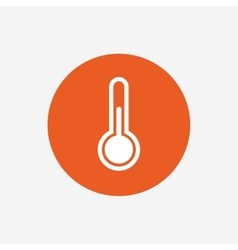Thermometer sign icon temperature symbol vector
