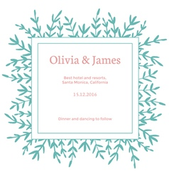 Simple invitation vector