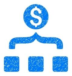 Money aggregator grainy texture icon vector
