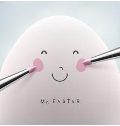 Mister Easter vector image