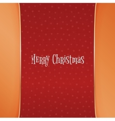 Christmas red background with white snowflakes vector