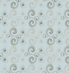 Abstract pattern of curls vector image vector image