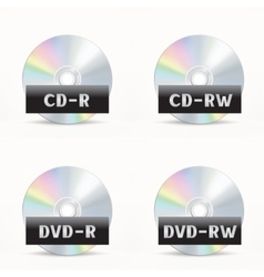 Cd-dvd icon vector