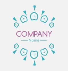 Fashion and clothing logo company vector