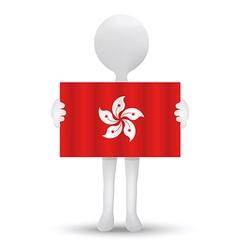 flag of Hong Kong SAR China vector image