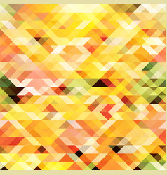 multicolor abstract triangular background vector image vector image