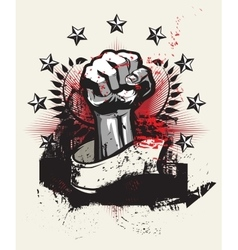 Revolution and protest vector