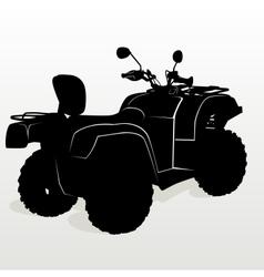 Contour ATV vector image