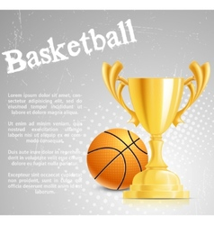 basketball competition vector image vector image