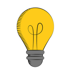 Bulb light creativity innovation vector