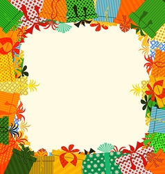 gifts box vector image