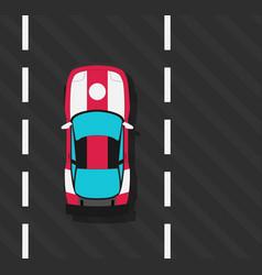 Super sports car vector