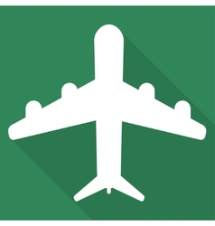 Plane airplane icon vector