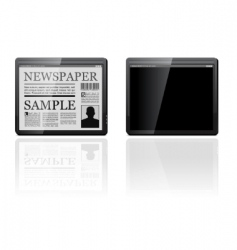 Generic tablet pc vector