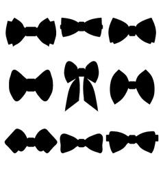 bow ties vector image