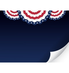 American style background vector image