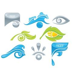 Natural health vision vector