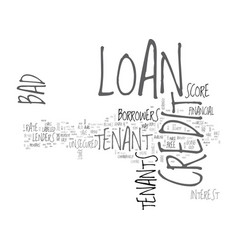Avail finance on better terms at bad credit vector