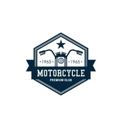 Badges Motorcycle Collections vector image vector image