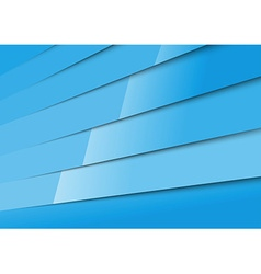 Bright blue layered adstract modern background vector image