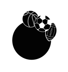 Set of sport games vector