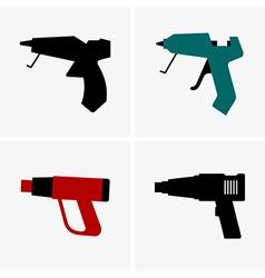Silicone gun vector