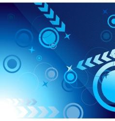 techno pattern vector image