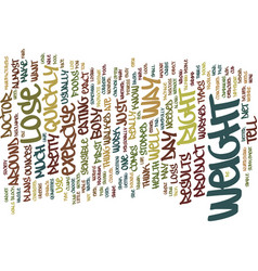 Lose weight quickly text background word cloud vector