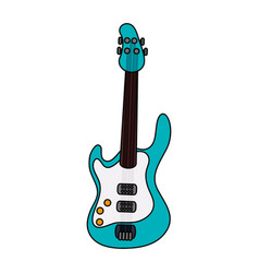 Electric guitar icon image vector