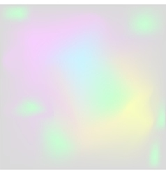 Holographic pearl background iridescent hologram vector