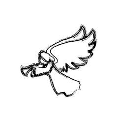 holy spiritual angel vector image vector image