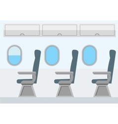 Airplane transport interior jet for travel vector