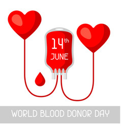14t june world blood donor day medical and vector