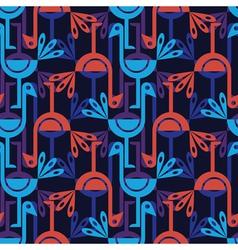 ethnic birds vector image vector image