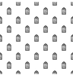 Label big sale pattern cartoon style vector