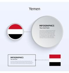 Yemen country set of banners vector