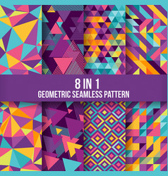 Geometric seamless pattern background 1 vector