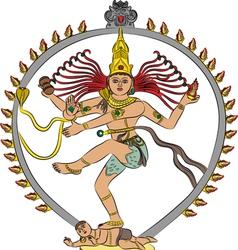 goddess Kali vector image