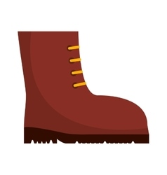 Boots work security icon vector