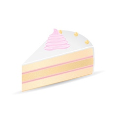 cake 08 vector image vector image