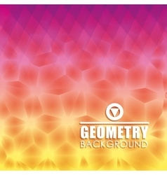 Geometry wallpaper or background vector