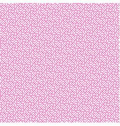 Seamless geometric chinese line pattern vector