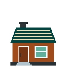 Small cottage icon vector image vector image