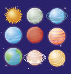 System solar design vector