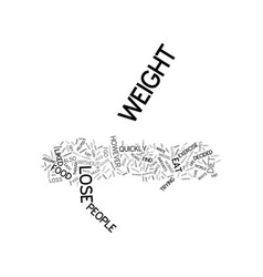 Lose weight quickly with this easy to maintain vector